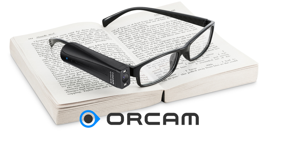 OrCam 2.0 intuitive wearable camera that reads back text and identifies faces and objects